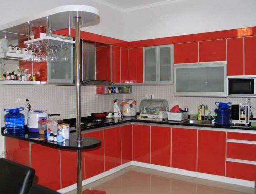 Kitchen Set Aluminium | 100% Vendor Spesialis Interior ...